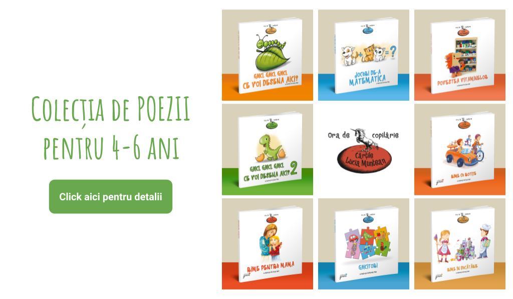set carti poezie copii lucia muntean 4-6 ani